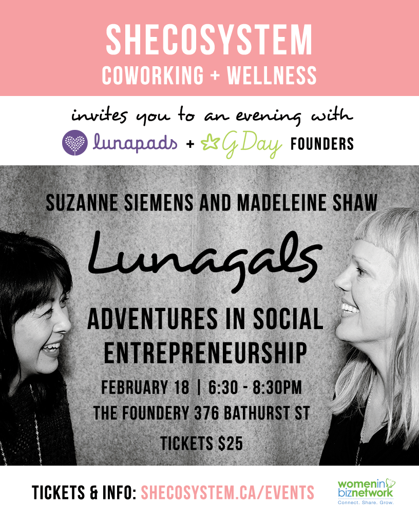 lunagals adventures in social entrepreneurship shecosystem